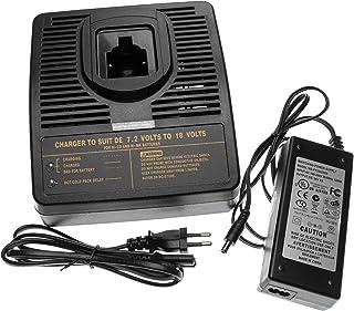 vhbw Snelle oplader adapter voor gereedschap compatibel met Dewalt 152250-27, 397745-01, DC9071, DC9091, DC9096, DE9036 ac...