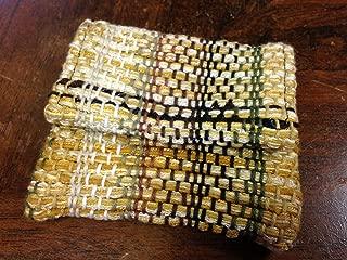 recycled necktie wallet