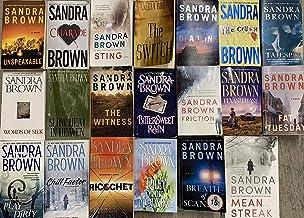 Sandra Brown Romantic Thriller Novel Collection 20 Book Set