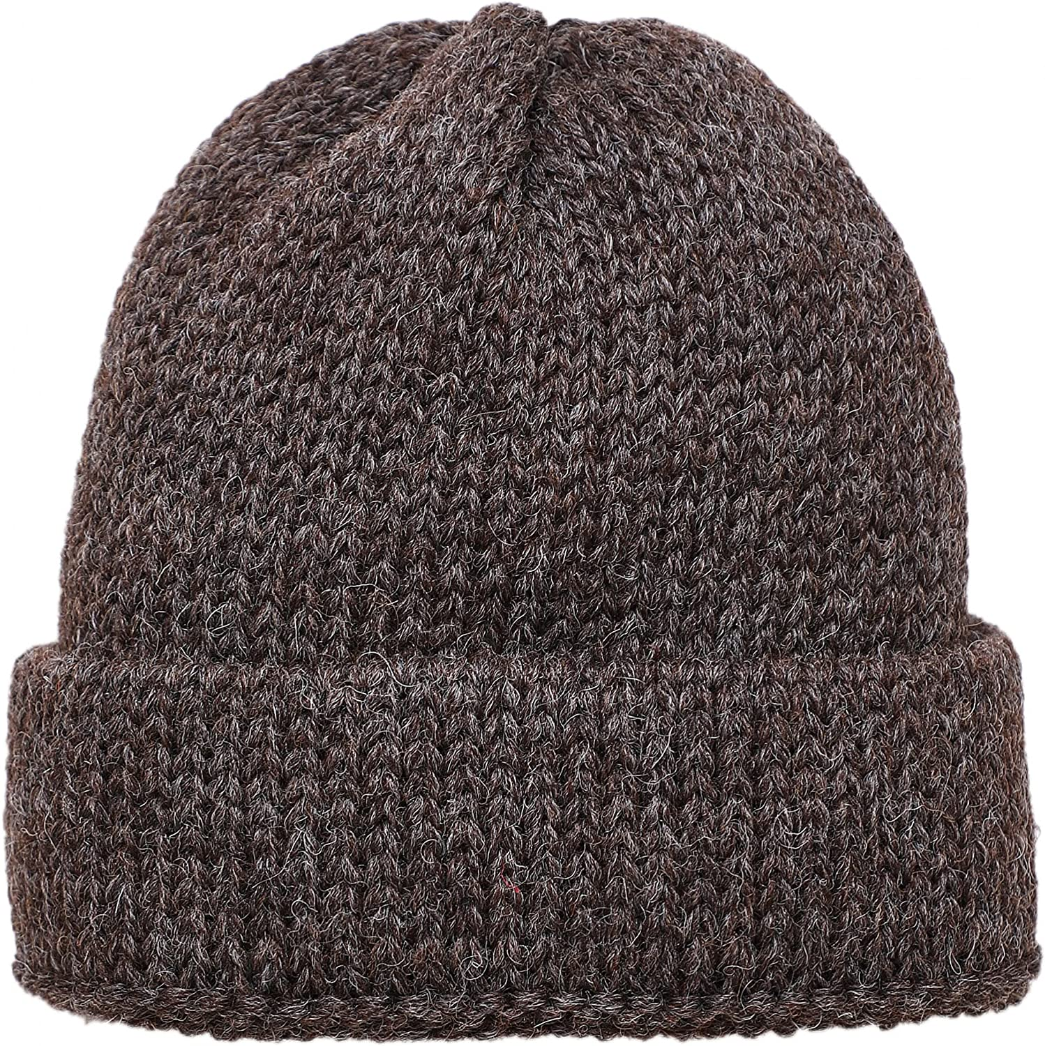 Universal Complete Free Shipping Works Men's shop Wool Beanie Brown