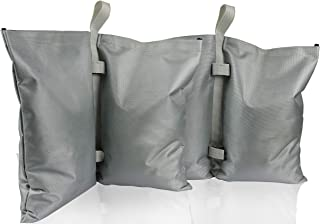 GigaTent Canopy Sand Bags - Tent Weights for Instant Outdoor Sun Shelter, Pop Up Tent, Gazebo, Canopy, Party Tent - Easy to Use, Heavy Duty Strong Material - Sandbag Leg Weights Pack of 2