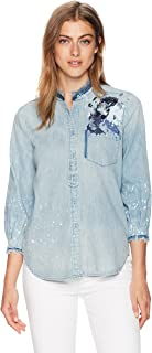 AG Adriano Goldschmied Women's Courtney Button up