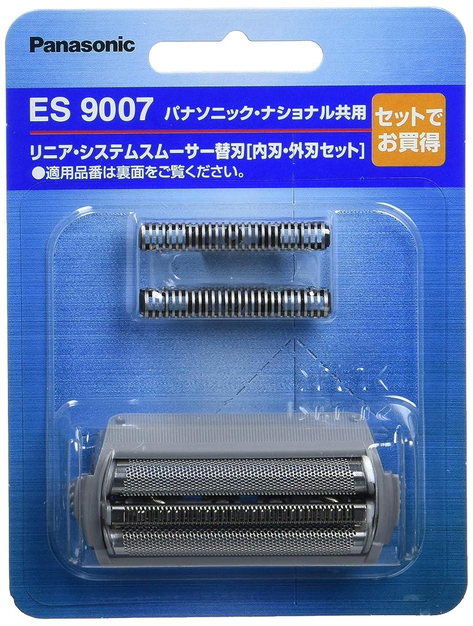 脅迫ハシー死の顎パナソニック 替刃 メンズシェーバー用 セット刃 ES9007