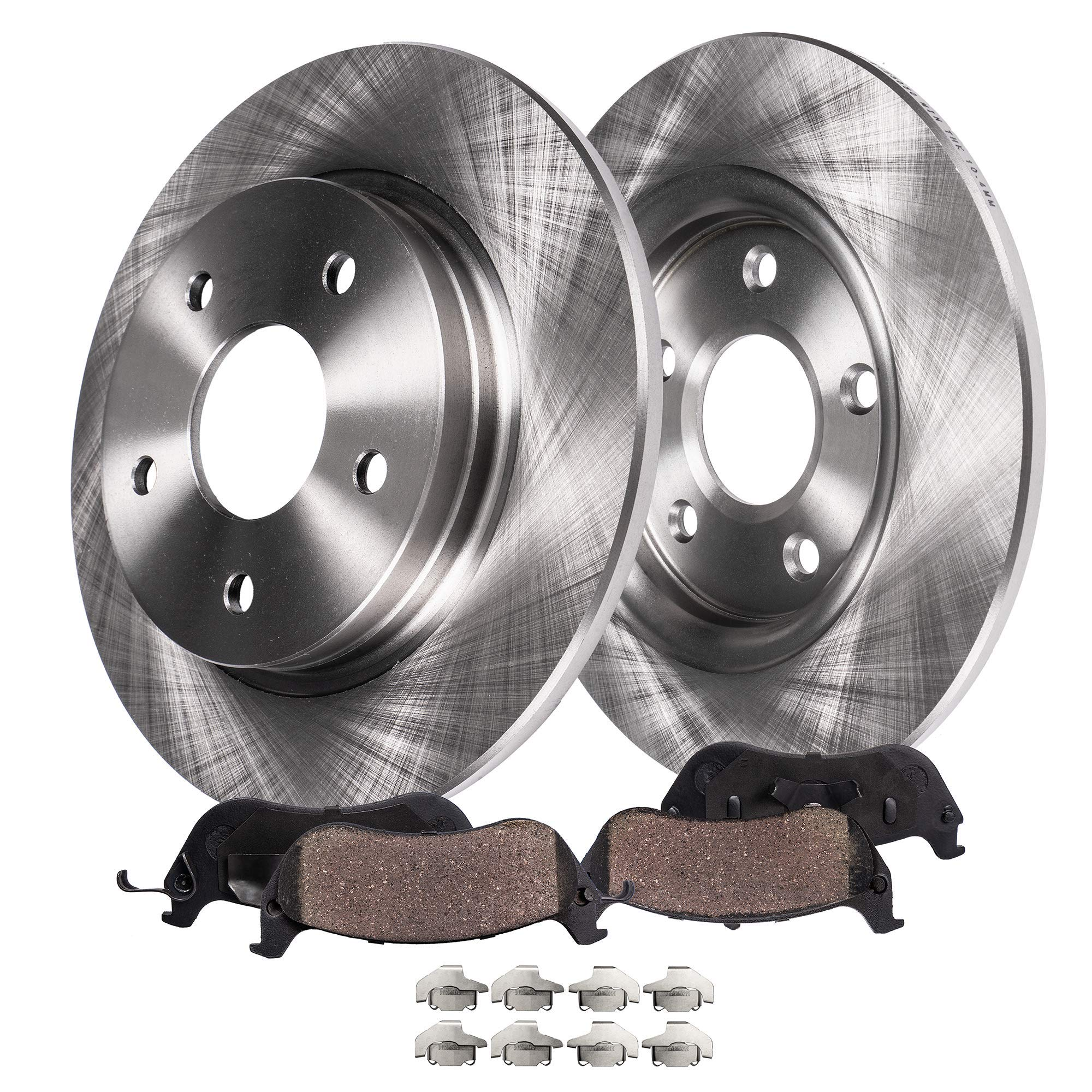 Fits: 2008 08 2009 09 Saturn Astra OE Series Rotors + Ceramic Pads Max Brakes Rear Supreme Brake Kit KM167642