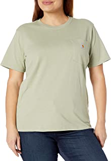 Carhartt Women's K87 Workwear Pocket Short Sleeve T-Shirt (Regular and Plus Sizes)