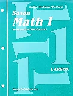 Saxon Math 1, student workbook part 1