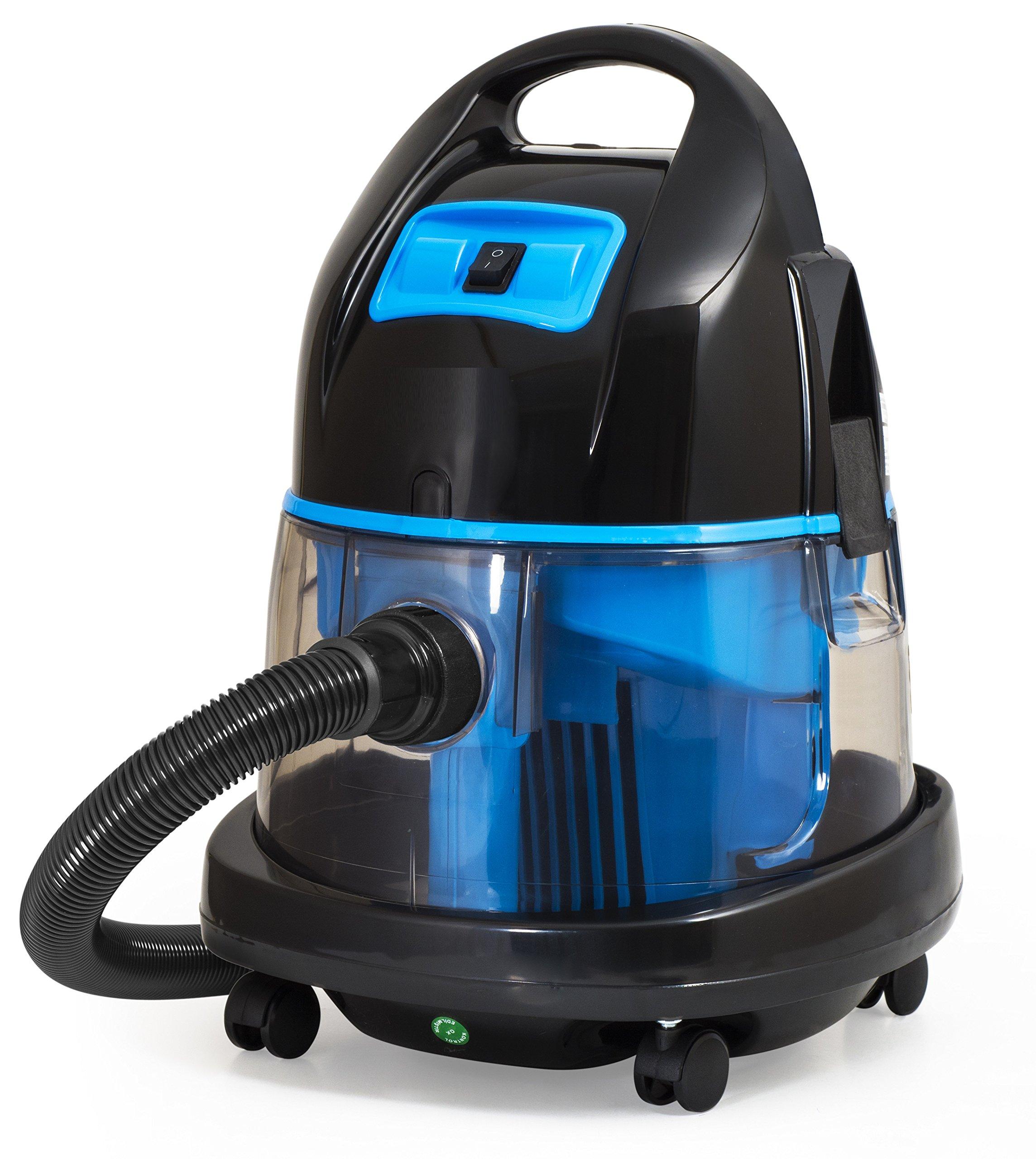 Aspirador con filtro de agua 2.400Watt - Aspiradoras en húmedo y en seco (Azul): Amazon.es: Hogar