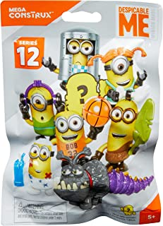 Mega Construx Despicable Me Micro Action Figures Building Set Building Set, Blind Pack, Styles May Vary