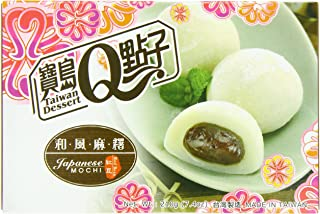 Royal Family Japanese Rice Cake Mochi, Red Bean, 7.41 Ounce (Pack of 24)