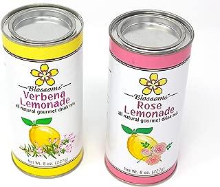 Blossoms Rose and Verbena Gourmet Lemonade Mix. (2) 8 oz