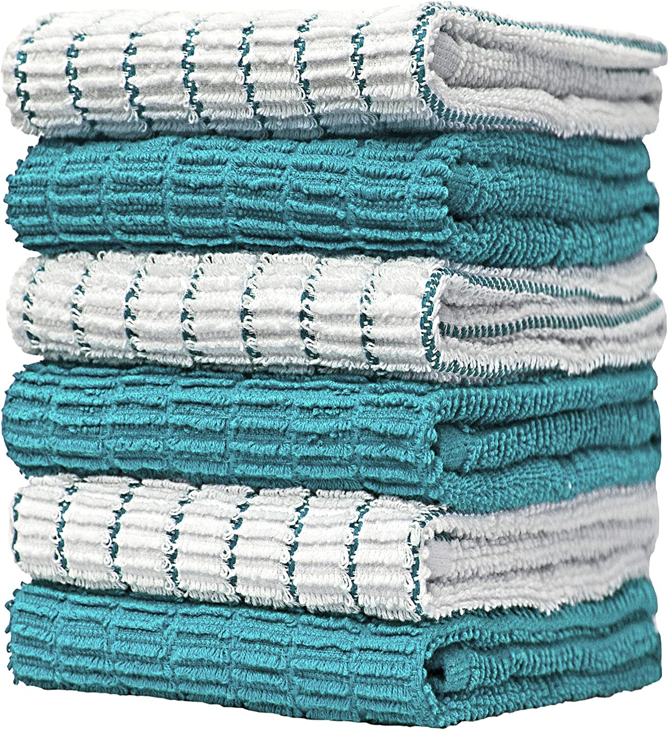 """Premium Kitchen Towels 16""""x 28"""" Gifts 6 – Popular product Large Pack"""