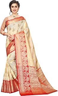 Silk Zone Women's Kanjivaram art silk saree With blouse Piece