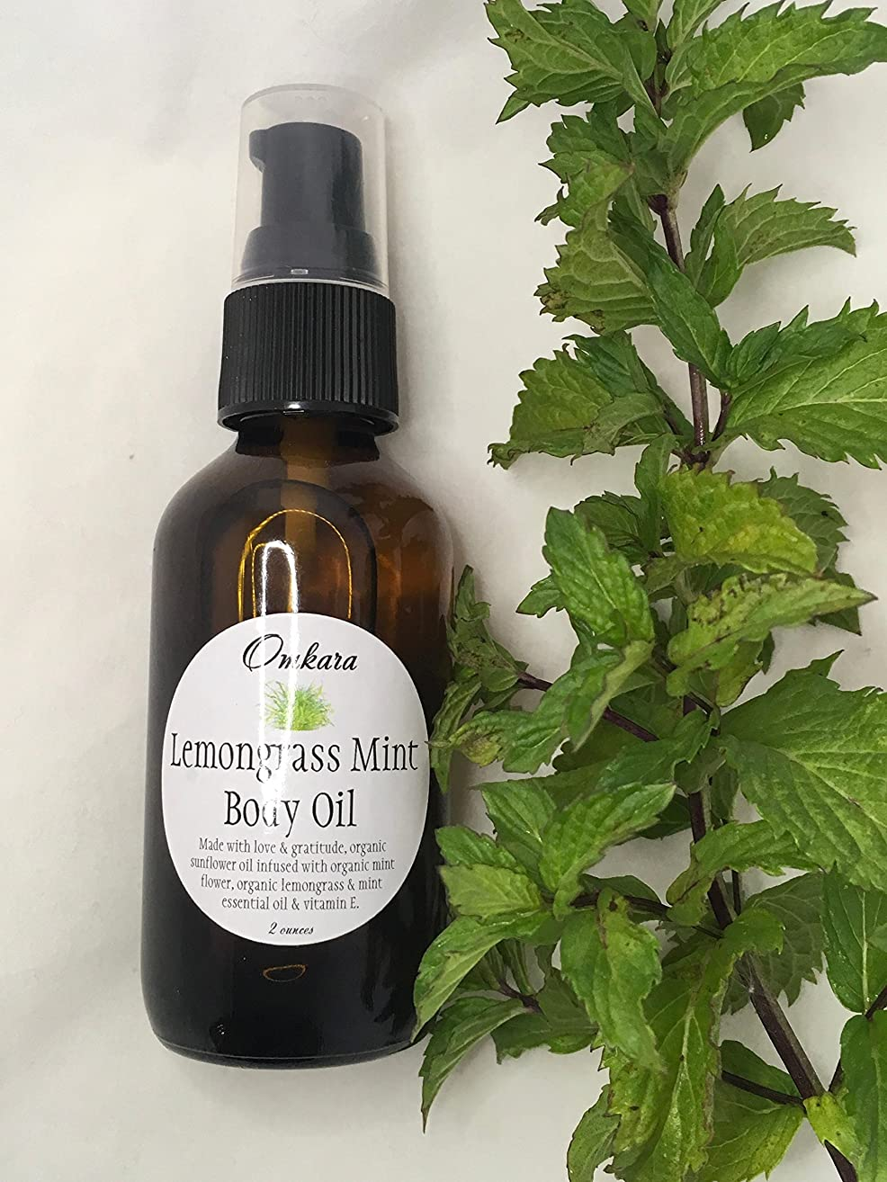 Lemongrass Mint Body Oil