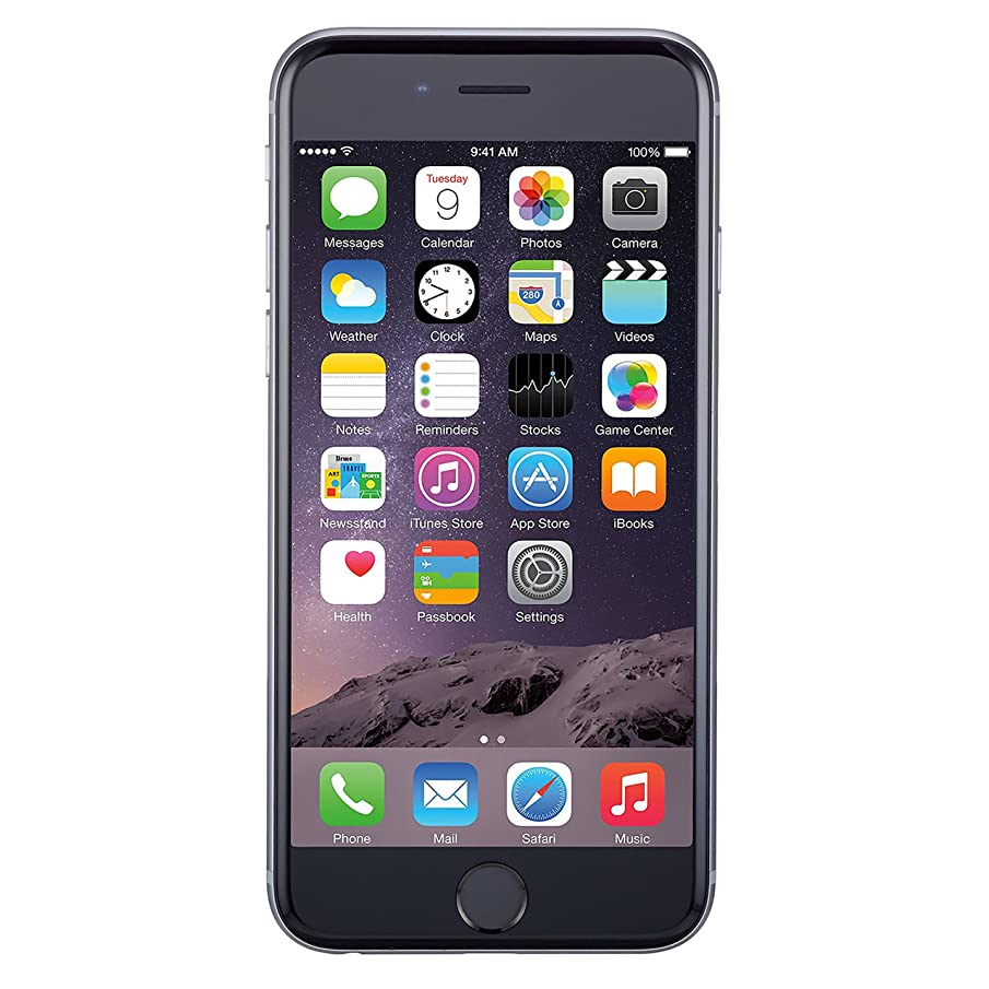 Apple iPhone 6 Plus, T-Mobile, 16GB - Space Gray (Renewed)