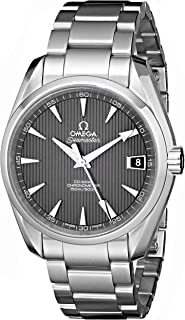 Men's 231.10.39.21.06.001 Seamaster Grey Dial Watch