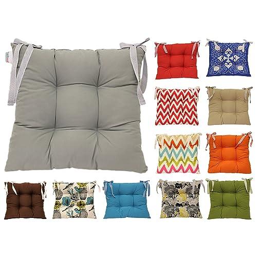 Kitchen Chair Cushion Amazon Co Uk