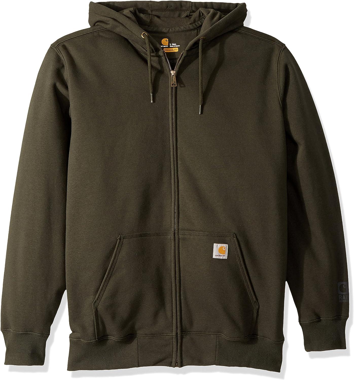 Carhartt Men's Award-winning store Big Tall Rain Defender Paxton Hooded Swe Max 75% OFF Zip Hw