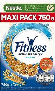 comprar comparacion Cereales Nestlé Fitness Original - Copos de trigo integral, arroz y avena integral tostados - 3 paquetes de cereales de 750g