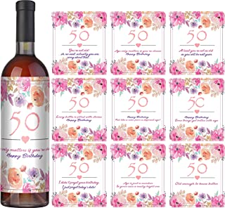 birthday wine label ideas