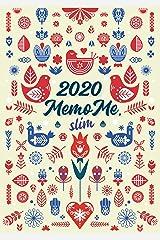 MemoME Planer 2020 slim Spiralbindung