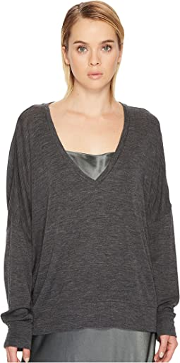 Vince - Drop Shoulder V-Neck