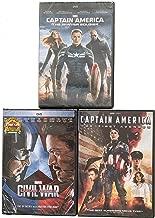 Marvel's Captain America Civil War-The First Avenger-The Winter Soldier
