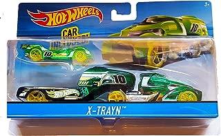 Hot Wheels - 2017 X-Trayn Hauler with Car Included (Green)