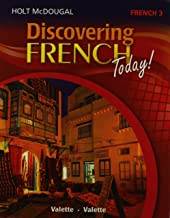 Discovering French Today: Student Edition Level 3 2013 (French Edition)