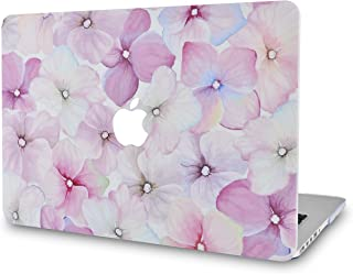 LuvCase Rubberized Plastic Hard Shell Cover Compatible MacBook Pro 13 inch A2159 / A1989 / A1708 / A1706 with/Without Touch Bar, Newest Release 2019/2018/2017/2016 Cover (Flower 18)