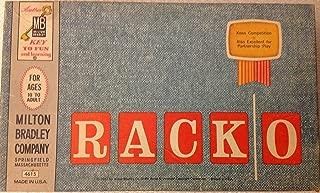 VINTAGE Game -- RACKO -- Milton Bradley Co. 1961 -- complete as shown