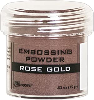 rose gold embossing powder