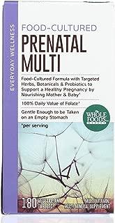 Whole Foods Market, Food-Cultured Prenatal Multi, 180 ct