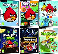 Angry Birds Ultimate Collection - Angry Birds / Seasons / Rio / Space / Star Wars / Bad Piggies (PC DVD) Windows XP/Vista/7