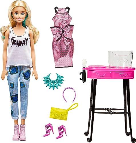 Barbie dnr05 Poupée et kit de Jeu et de Loisirs Soirée Mode