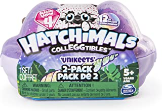 Hatchimal Egg Carton 2 Pack Season 4 with Free Mini Scratch Art from Little Folks
