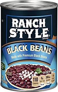 Ranch Style Black Beans, 15 Ounce