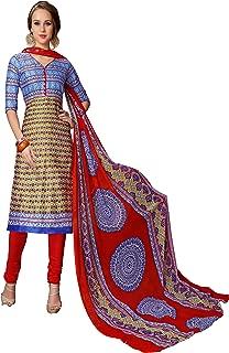 Minu salwar Cotton Printed Suit sets Multi(Mannat_1014_0)
