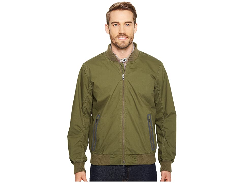 Prana Brookridge Bomber Jacket (Cargo Green) Men