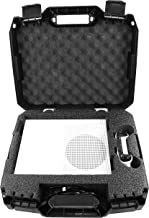Casematix Travel Carry Case Compatible with Xbox 1 S 1TB Video Game Console , Power Cables , Remote Controller and Games