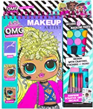 LOL OMG Make-Up Artist Magazine by Horizon Group USA. DIY Craft Kit, Design with Crayons, Stickers & More.Create Fashionab...