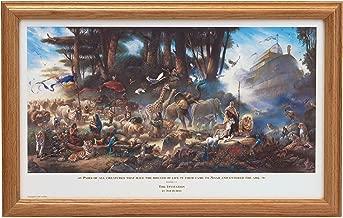 Tom duBois THE INVITATION Hand Signed by the Artist FRAMED Noah's Ark Art