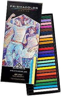Prismacolor 2163 Premier Art Stix Woodless Colored Pencils, 24-Count