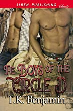 The Boys of the Circle D (Siren Publishing Classic ManLove)