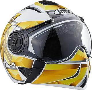 Studds Full Face Helmet Downtown D3 (White N5, M)