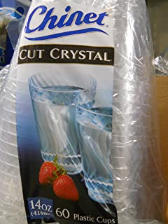 Chinet Cut Crystal 14 Oz 60 Count