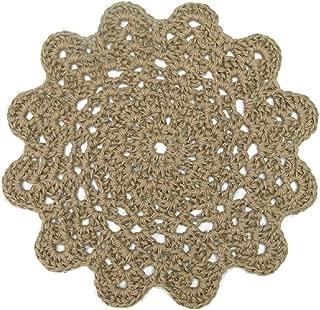 crochet twine rug