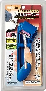 リリーフ(RELIFE) 鉄工ドリル用 ドリルシャープナー 使用範囲2.0~12.5mm 粒度#100 23804