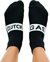 Gas Clutch Socks Unisex Funny Gag Gift for JDM Fans, Auto, Car Enthusiasts