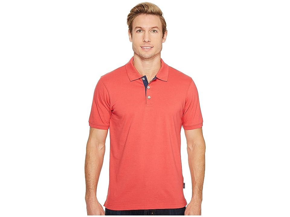 Columbia Harborside Slim Fit Polo (Sunset Red) Men