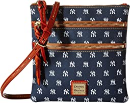 MLB Triple Zip Crossbody